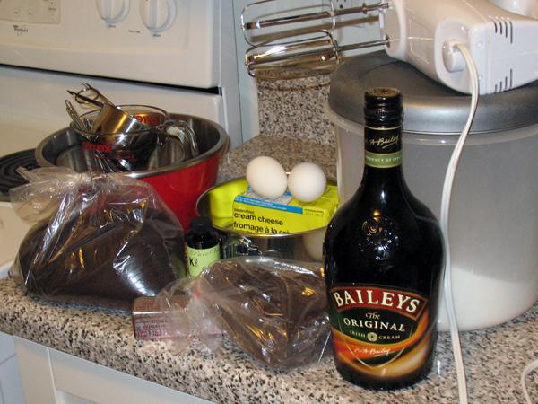 Patty's Belgian chocolate Irish Cream cheesecake (2/6)