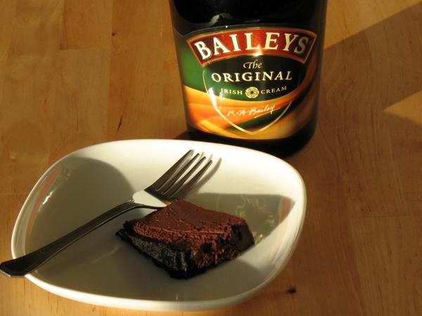 Patty's Belgian chocolate Irish Cream cheesecake (1/6)