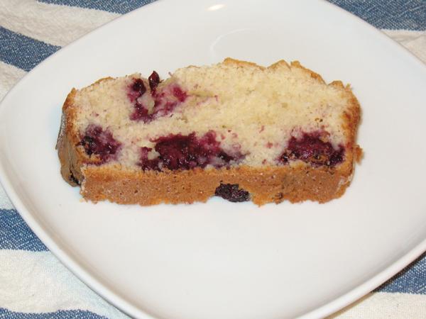Patty's blackberry lemon loaf (1/6)