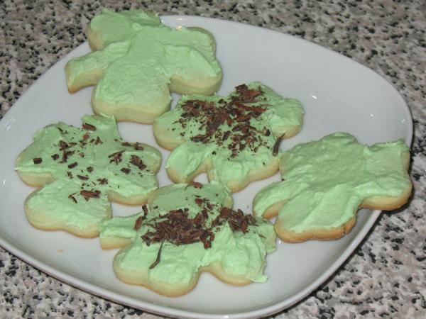 Grandma's Scotch cakes - St. Patrick's style (6/6)