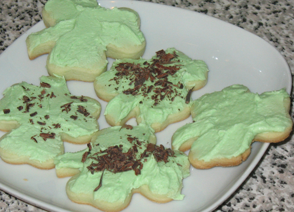 Grandma's Scotch cakes - St. Patrick's style (1/6)